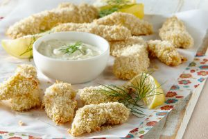 Dijon Chicken Fingers