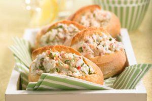 Zesty Crab Rolls